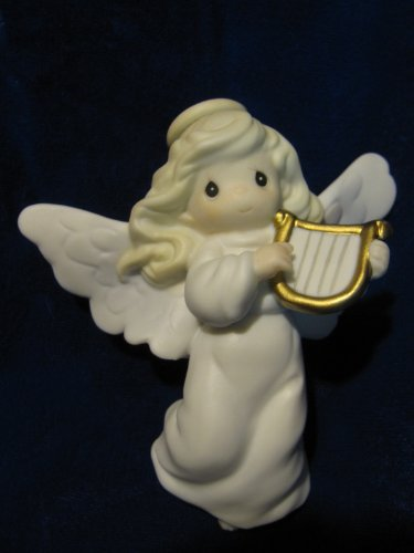 Precious Moments pm 1997 272566 - pm272566 (Girl Angel Playing a Harp), ()