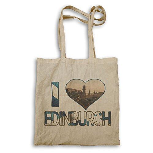 Ich Liebe Edinburgh Kunst Tragetasche r922r
