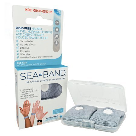 PACK OF 5 - Sea-Band Nausea Relief Acupuncture Wrist Band, 1ct