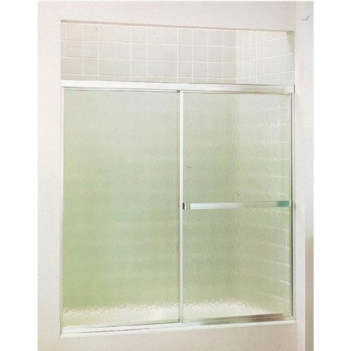 """Sterling By-Pass Tub Enclosure 56-1/8 """" H Silver low-cost"""