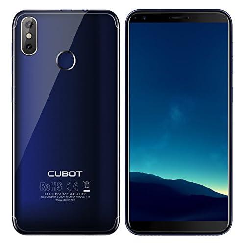 chollos oferta descuentos barato CUBOT R11 Smartphone Dual SIM de 5 5 Quad Core 1 3 GHz 2 GB de RAM 16 GB de memoria cámaras de 8 2 13 MP Android 8 1 Oreo Azul