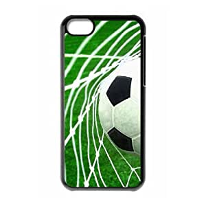 Soccer Ball CUSTOM Cell Phone Case for iPhone 5C LMc-20374 at LaiMc