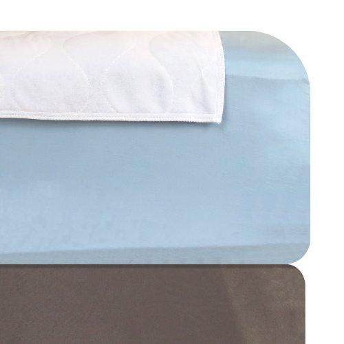 Dry Defender Reusable Waterproof Mattress Pad Washable Waterproof