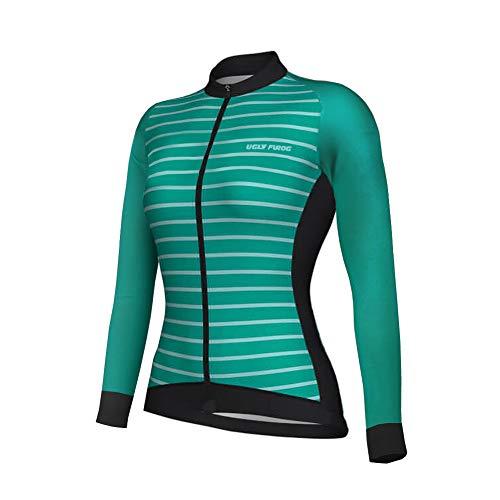hirt Lightweight Sports T-Shirt Cycling Quick-Dry Long Sleeve Women's Performance Training T- Shirt Top ()