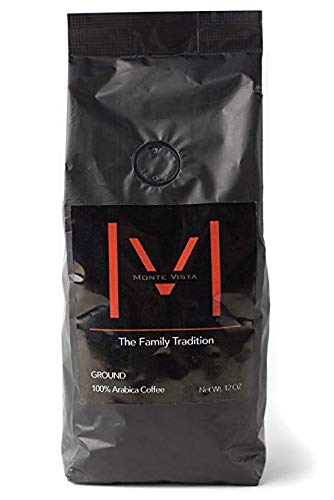 MONTE VISTA CRAFT COFFEE -12oz Whole-bean-Honduran Specialty Coffee-MICRO-BATCH ROAST-Medium dark Roast, STRICTLY HIGH GROWN with floral notes and CHOCOLATE FINISH!