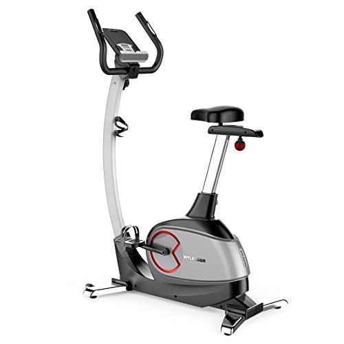 Fitleader UF2 Exercise Magnetic Stationary Flywheel Middle Belt Indoor Upright Bike