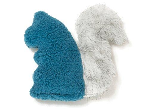 - West Paw Sequoia Squirrel Spruce Blue Squeaker Toy