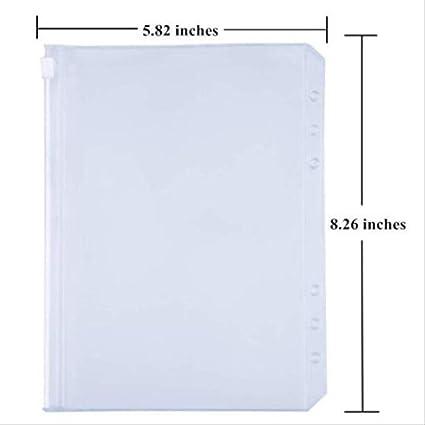 12 stücke Mappe Taschen A5 a6 Größe Mappe Reißverschluss