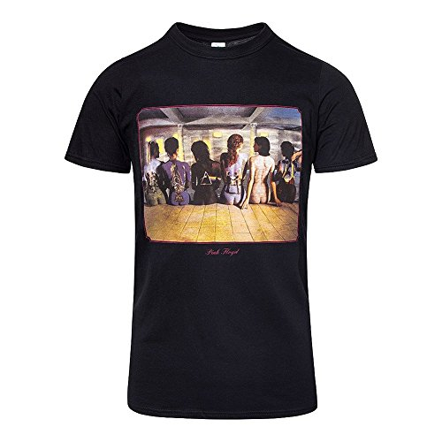 (Pink Floyd T Shirt Back Catalogue Painted Ladies Logo Official Mens Black)