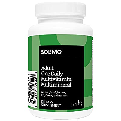 Amazon Brand - Solimo Adult One Daily Multivitamin Multimineral