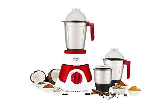Usha Imprezza Mixer Grinder (750 W, Red and White)