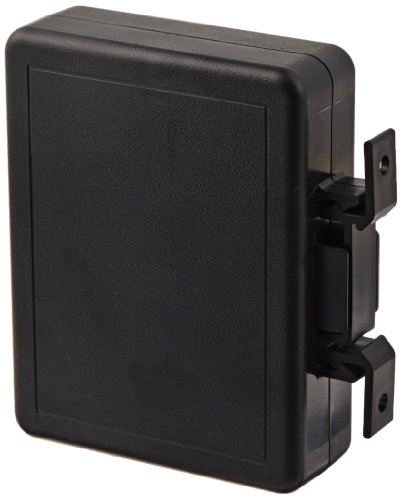 BUD Industries DPB-4760 Plastic DIN Rail Mount Plastic Box, 4-1/2
