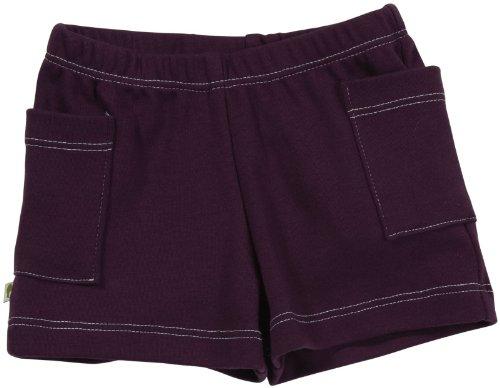 Kiwi Shorts (Baby) - Eggplant-0-3 (Kiwi Cotton Shorts)