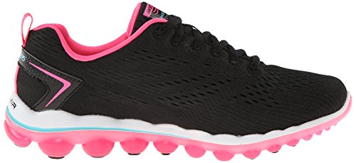 Pink Sport 2 Skechers Hot Air Trim 0 Women Fashion Mesh Sneaker Black Skech PqHpAdxH4w