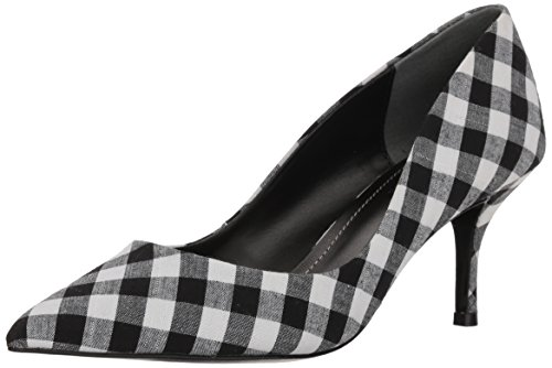 Charles by Charles David Women's Addie Pump, Black/White, 8.5 M US
