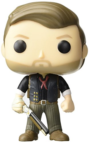 New Collection Funko POP Games Bioshock Infinite Booker DeWitt Action Figure 62 NEW