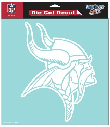 WinCraft NFL Minnesota Vikings WCR25666013 Perfect Cut Decals, 8