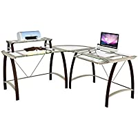 Z-Line Designs Kayden L Desk, Bronze