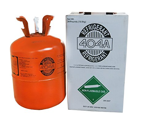R404a Refrigerant in 24lb Disposable Tank by StateofNine