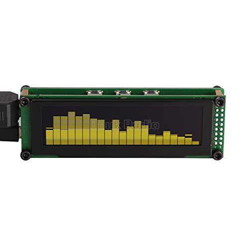 Nobsound 2132 OLED Spectrum Indicator Audio Level Display VU Meter Music Screen Analyzer for Amplifiers