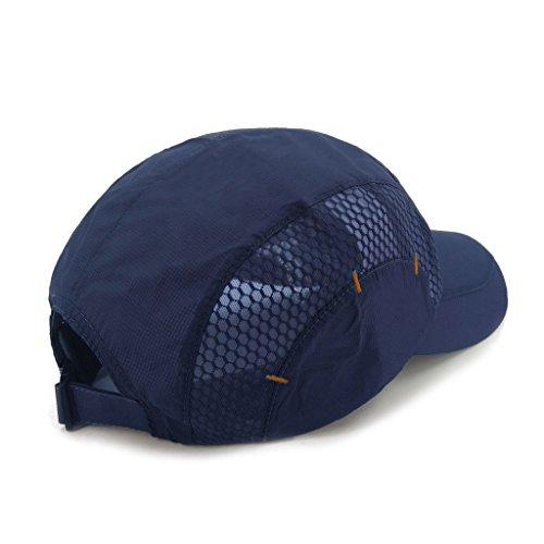 d0e4f81767a LETHMIK Quick Dry Sports Cap Unisex Sun Hat Summer UV Protection Outdoor Cap