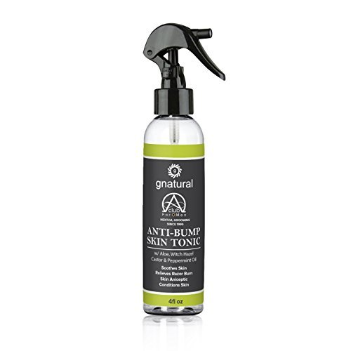 Anti-Bump Skin Tonic Spray For Men. The NEXT Level in Razor Bump Protection, Use Shave Tonic Post-Shave for a Smooth Face Without RazorBumps. (Lvl Kit)