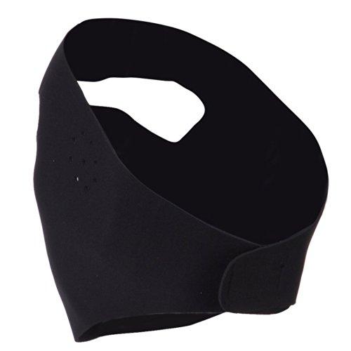Full Cover Face Mask - Black OSFM