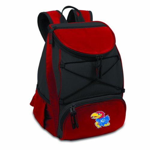 NCAA Kansas Jayhawks PTX Insulated Backpack Cooler, Red ()
