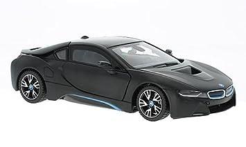Modell 1 24 Bmw I8 Matt Schwarz Rastar 56500 Amazon Co Uk Toys Games