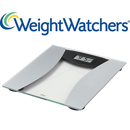 Weight Watchers Ultra Slim Glass Precision Electronic Scale