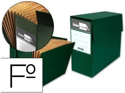 Liderpapel TR02 - Caja transferencia con fuelle: Amazon.es: Oficina y papelería