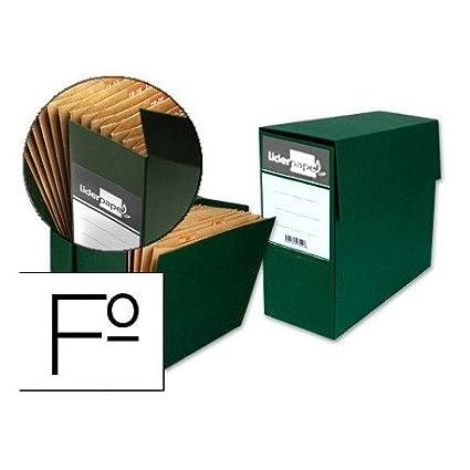 Liderpapel TR02 - Caja transferencia con fuelle
