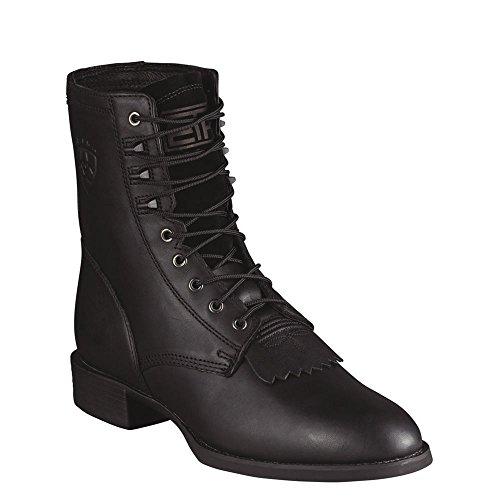 Kiltie Lacer Boot - Ariat Heritage Lacer Men's Boot 11 2E US Black