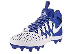 Nike Men's Huarache V Lax Game Royalwhitewhite Cleated Shoe 10 Men Us