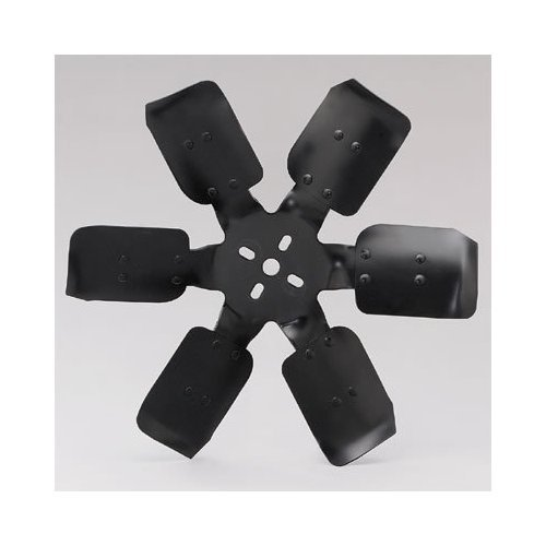 "Flex-a-lite 1617P Black Steel, Aluminum Bladed 17 1/4"" High RPM Race Fan"
