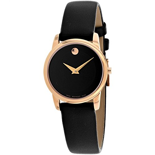 Movado Women's Classic Museum - 0607079 Rose Gold One (Gold Tone Museum)