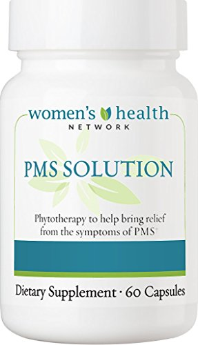PMS Solution by Women's Health Network – Natural PMS Relief with Herbal Based Hormonal Support (1 Bottle)
