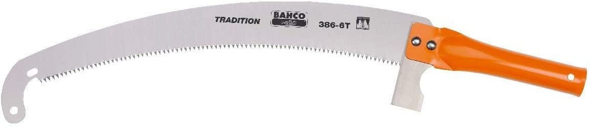 Bahco 14-Inch Pruning Saw with Striking Knife 386-6T