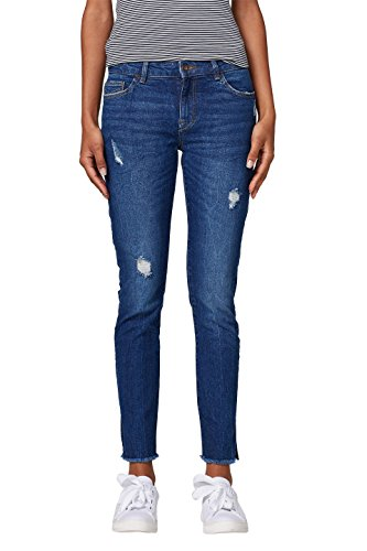 Femme Wash Jean Bleublue 901 Edc Skinny Dark By Esprit If7yYvb6g
