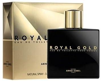 Arno Sorel Paris Royal Gold Eau De Toilette For Men 100 Ml