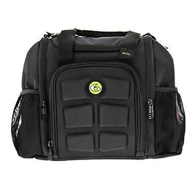 6 Pack Fitness Bag Mini Innovator Black/Neon Green