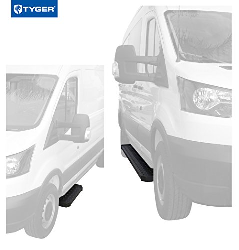 Body Auto Van Parts - Tyger Running Boards for 15-17 Ford Transit Cargo Van (Driver Side 31