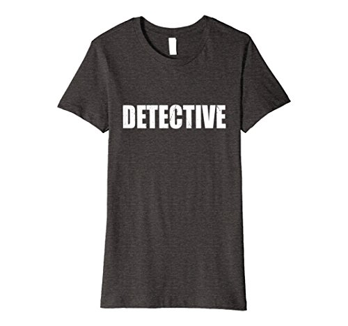 Womens Detective T Shirt Halloween Costume Funny Cute