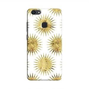 Cover It Up - Gold White Star V7 Plus Hard Case