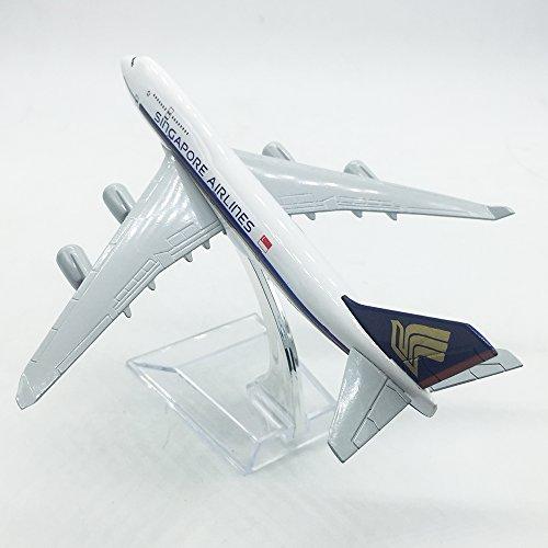 飛行機 模型 ボーイング B747 シンガポール航空 Singapore Airlines 1/400 16cm 完成品 旅客機コレクション 高品質合金 エアプレーン