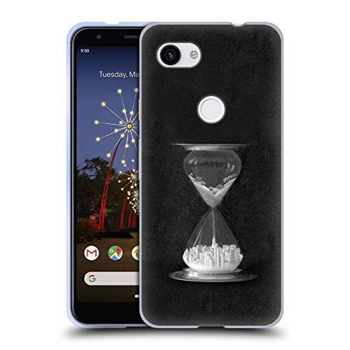 Official Thomas Barbey Burb to Urb Cities Soft Gel Case Compatible for Google Pixel 3a