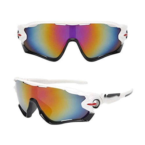 VIASA Outdoor Cycling Glasses Bike Bicycle Sunglasses Polarized Sunglasses Eyewear Riding glasses Outdoor sports glasses Sunglasses 148mm (Multicolor - Order Where To Online Eyeglasses Prescription