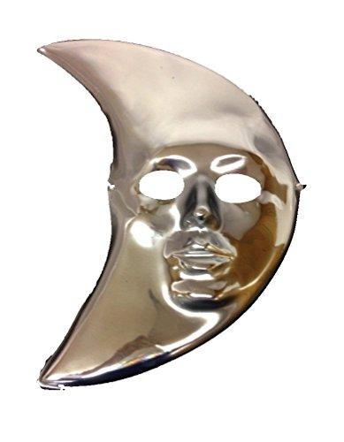 Silver Moon Mylar Mask (Individual)