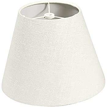 Darice 5200-29, Small Lamp Shade White Fabric-covered - Small Lamp ...