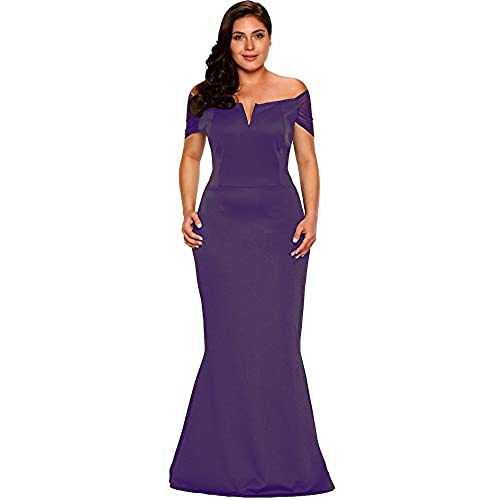 Plus Size Party Dresses In Purple Amazon